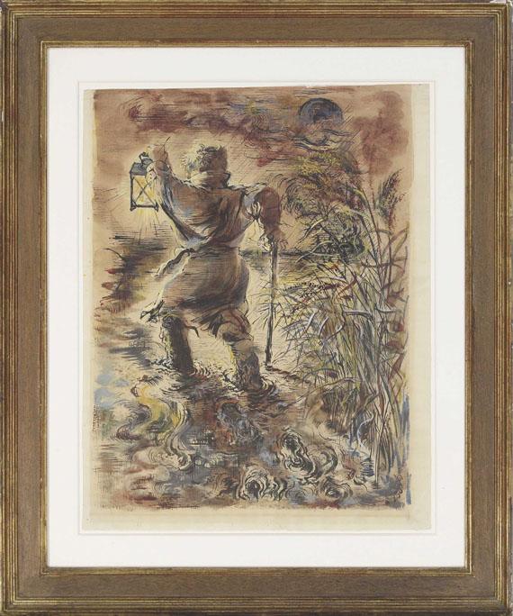 George Grosz - The Wanderer - Frame image