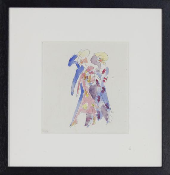 Ernst Ludwig Kirchner - Tänzerinnen - Frame image