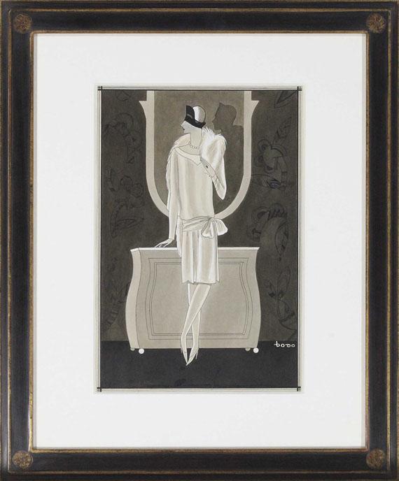 Dodo (d. i. Dörte Clara Wolff) - Elegante Frau - Frame image
