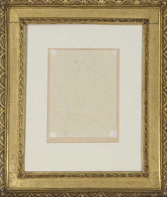 Gabriele Münter - Frau - Rahmenbild