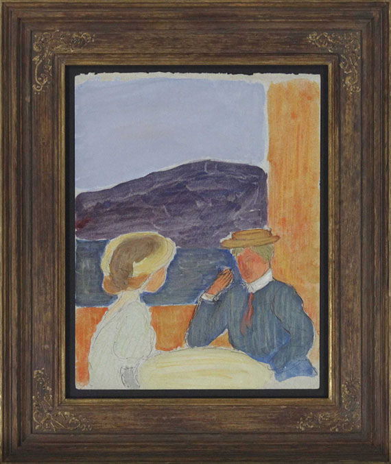 Marianne von Werefkin - Paar im Gespräch - Frame image