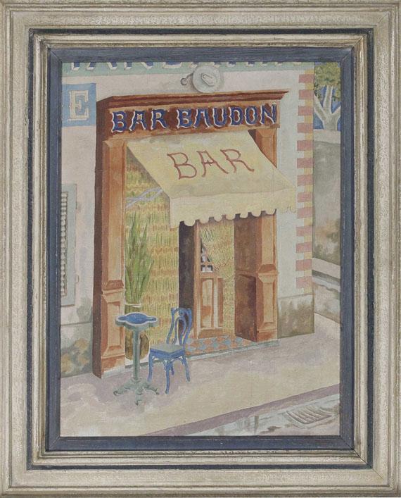 George Grosz - Marseille. Bar Baudon - Frame image