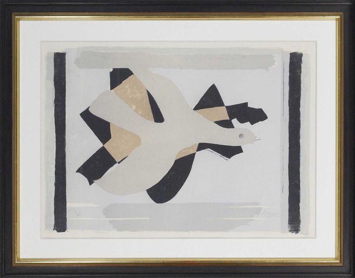 Georges Braque - L´oiseau et son ombre I - Frame image