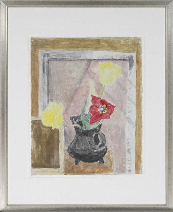 Erich Heckel - Tulpen - Rahmenbild