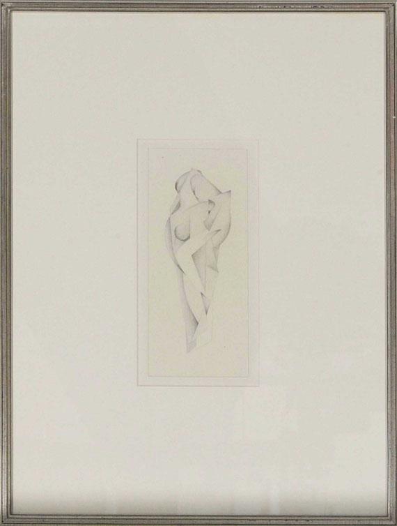 Rudolf Jahns - Zwei weibliche Akte - Frame image