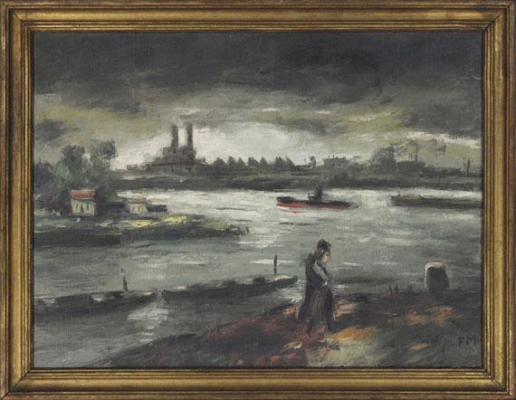 Frans Masereel - Bords de la Seine - Rahmenbild