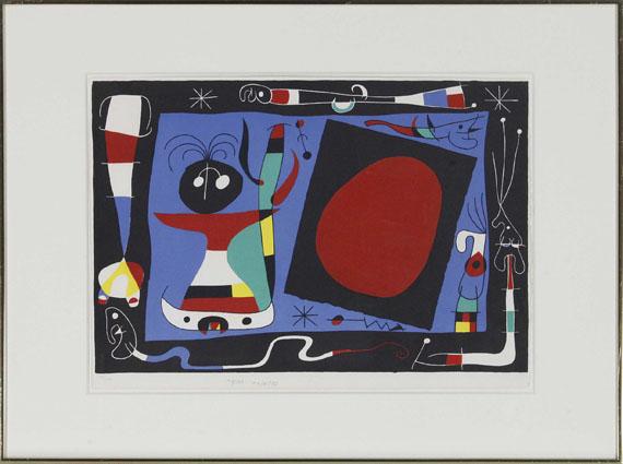 Joan Miró - La Femme au Miroir - Frame image