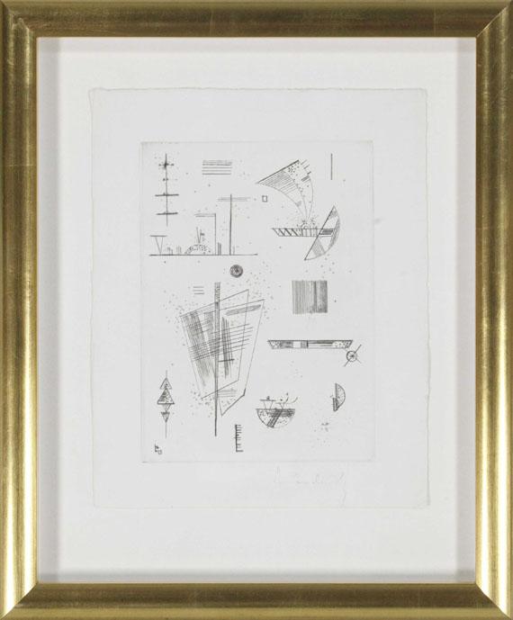 Wassily Kandinsky - Erste Radierung für die Editions >Cahiers d´Art< - Rahmenbild