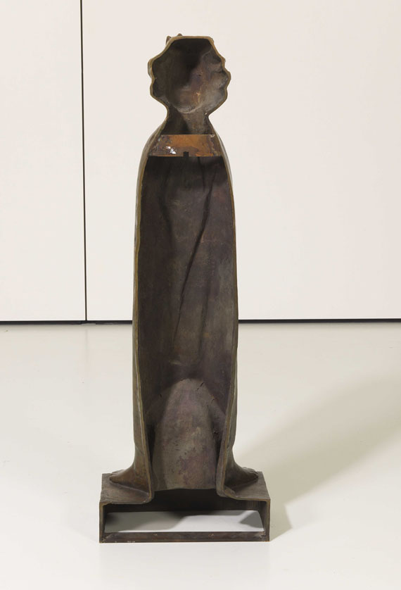 Ernst Barlach - Die Flamme - Back side