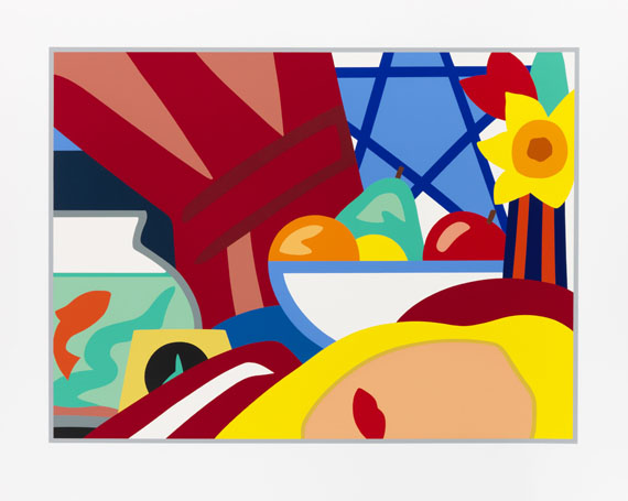 Tom Wesselmann - Still Life with Blonde