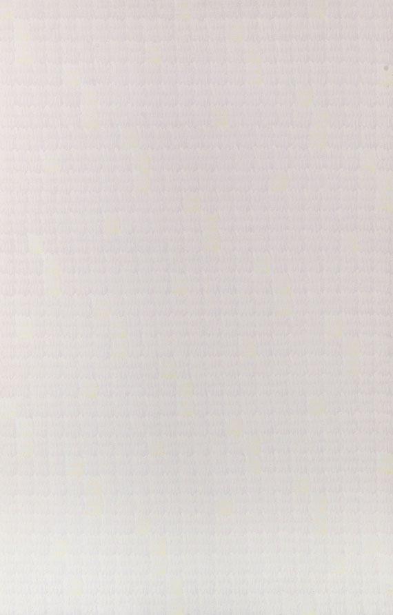 Rolf-Gunter Dienst - Ohne Titel (Weisses Bild)