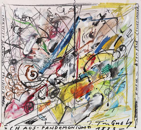 Jean Tinguely - Chaos - Pandemonium