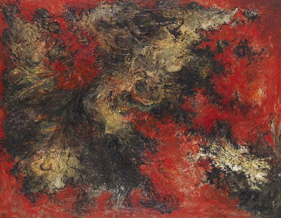 Bernard Schultze - auf Rot