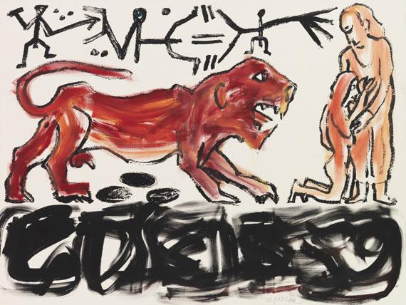 A. R. Penck (d.i. Ralf Winkler) - Colloseum