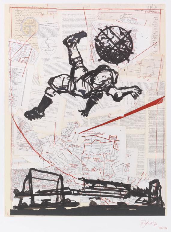 William Kentridge - Bicycle Kick