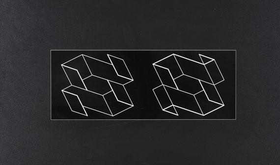 Josef Albers - Duo H