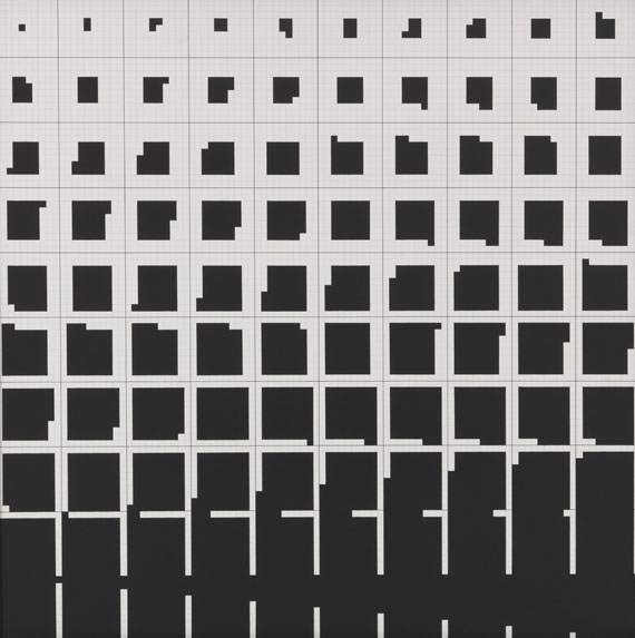 Ryszard Winiarski - Game 10 x 10 - Logical Course - A Centrifugal Spiral