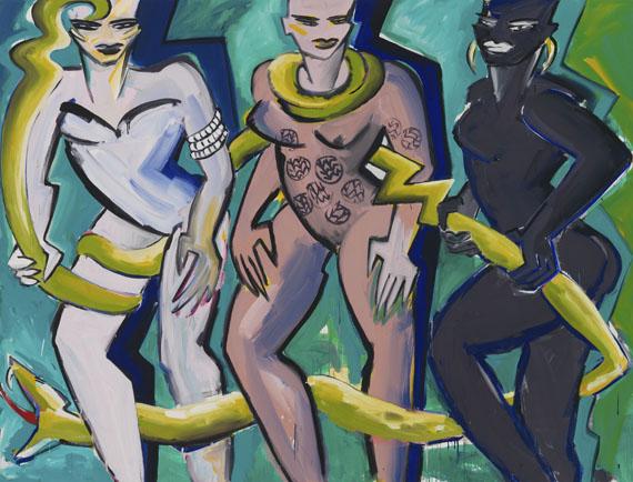 Elvira Bach - Drei Schwestern