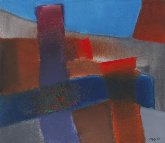 Fritz Winter - Rot - Blau