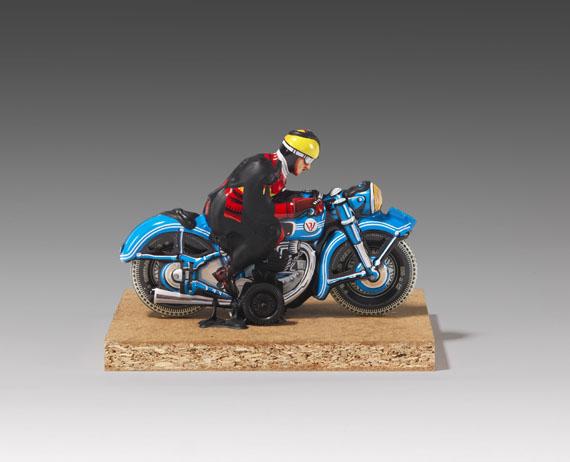 Dieter Roth - Motorradfahrer - Weitere Abbildung