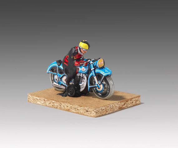 Dieter Roth - Motorradfahrer