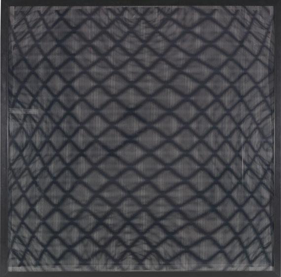 Ludwig Wilding - Original Stereoskopisches Bild mit Gitter