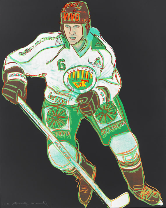 Andy Warhol - Frolunda Hockeyplayer