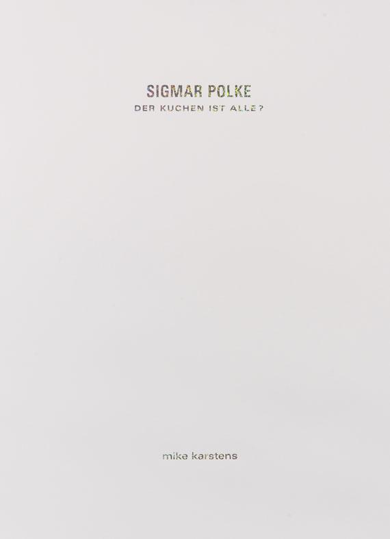 Sigmar Polke - Portfolio: Der Kuchen ist alle? -