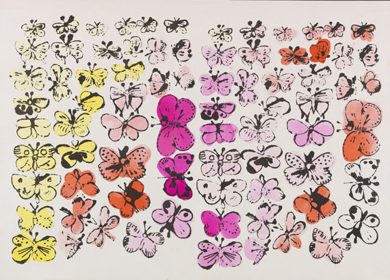 Andy Warhol - Happy Butterfly Day