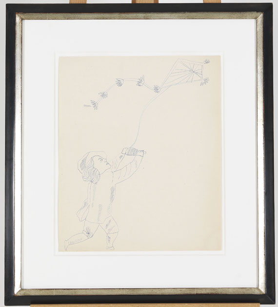 Andy Warhol - Male Costume Figure - Frame image