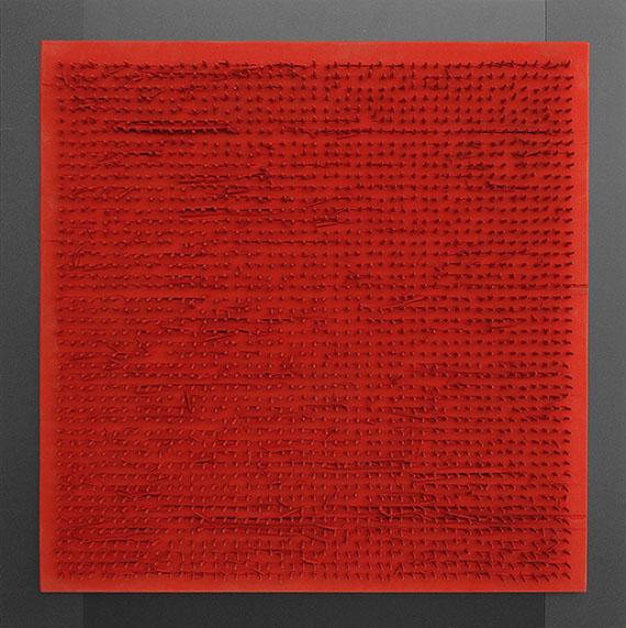 Bernard Aubertin - Tableau clous - Frame image