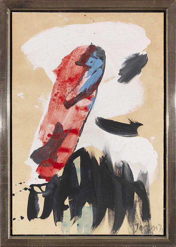 Asger Jorn - Untitled - Rahmenbild