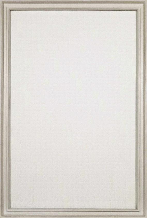 Rolf-Gunter Dienst - Ohne Titel (Weisses Bild) - Frame image