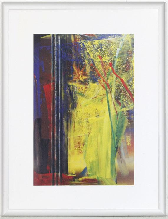 Gerhard Richter - Victoria I, Victoria II - Rahmenbild