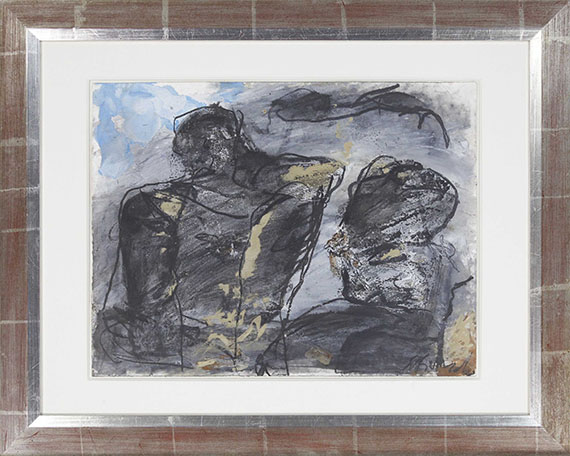 Emil Schumacher - G-69/1984 - Frame image