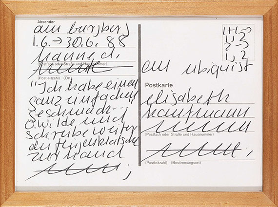 Hanne Darboven - An Ubiquist - Frame image