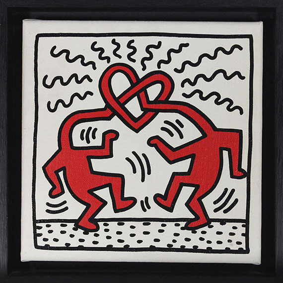 Keith Haring - Untitled (Love) - Rahmenbild