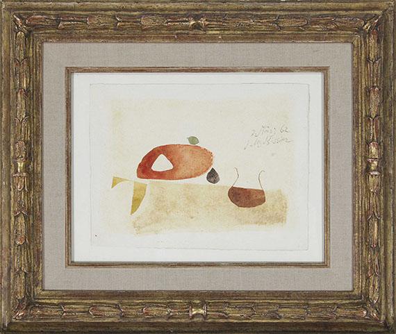 Julius Bissier - 7. März 62 - Frame image