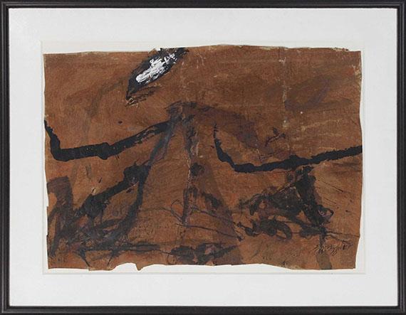 Emil Schumacher - G-4/1978 - Frame image