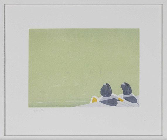 Alex Katz - Harbor - Frame image