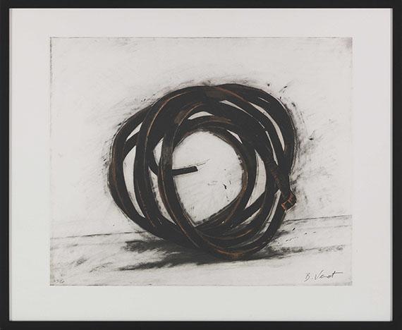 Bernar Venet - Indeterminate Lines (3-teilig) - Frame image