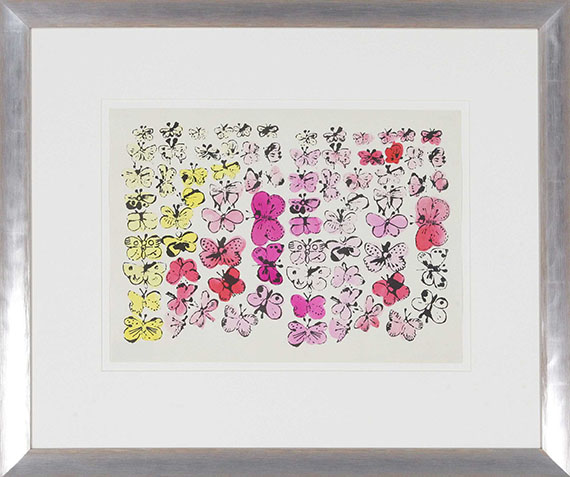 Andy Warhol - Happy Butterfly Day - Frame image