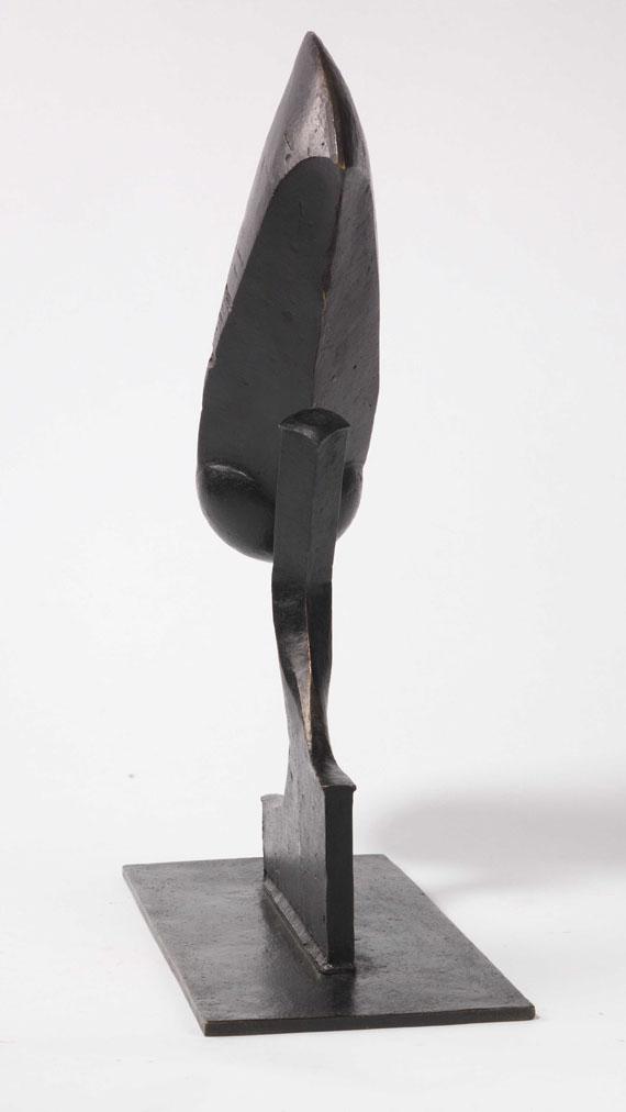 Rudolf Hoflehner - Figur 50 K/1 (Kleines Idol 2) - Rückseite