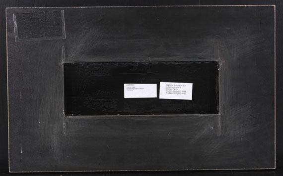 Josef Albers - Duo H - Back side