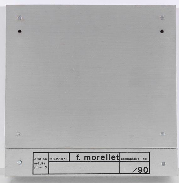 François Morellet - 3 Trames de grillage 0° 30° 60° - Back side