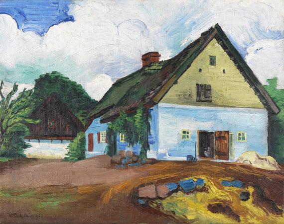 Hermann Max Pechstein - Weißes Haus