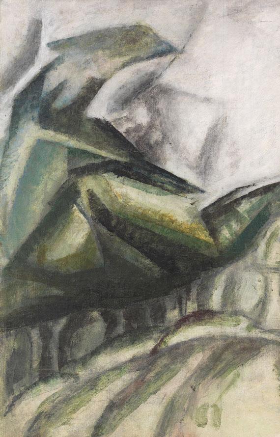 Lyonel Feininger - Waldszene