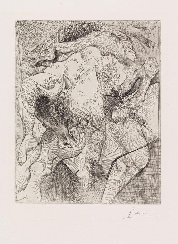 Pablo Picasso - Marie-Thérèse en femme torero