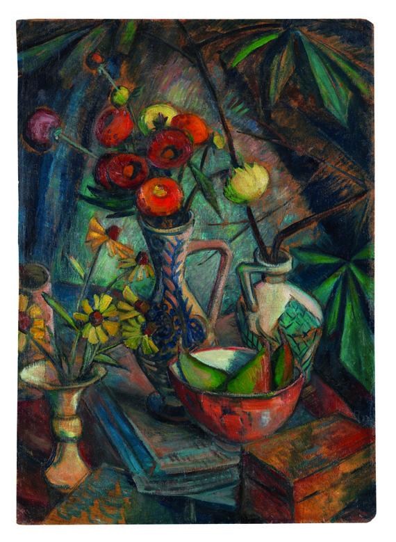 Dorothea Maetzel-Johannsen - Stilleben mit Blumen