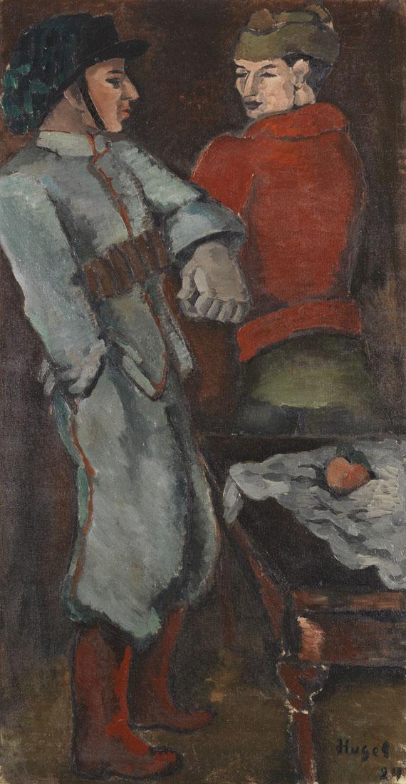 Helmut Kolle gen. vom Hügel - Zwei Soldaten